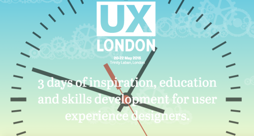 UX London conference for designers