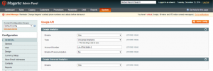 configure settings for blueacorn magento plugin