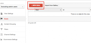 create destination goal in google analytics