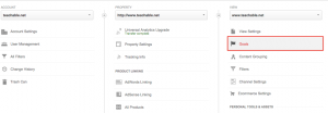 set up goals in google analytics