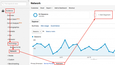 create advanced segment in google analytics