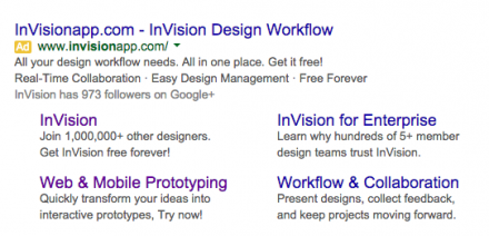 invision adwords example