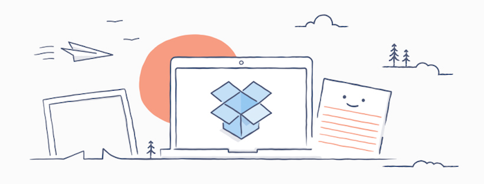 Dropbox cartoon