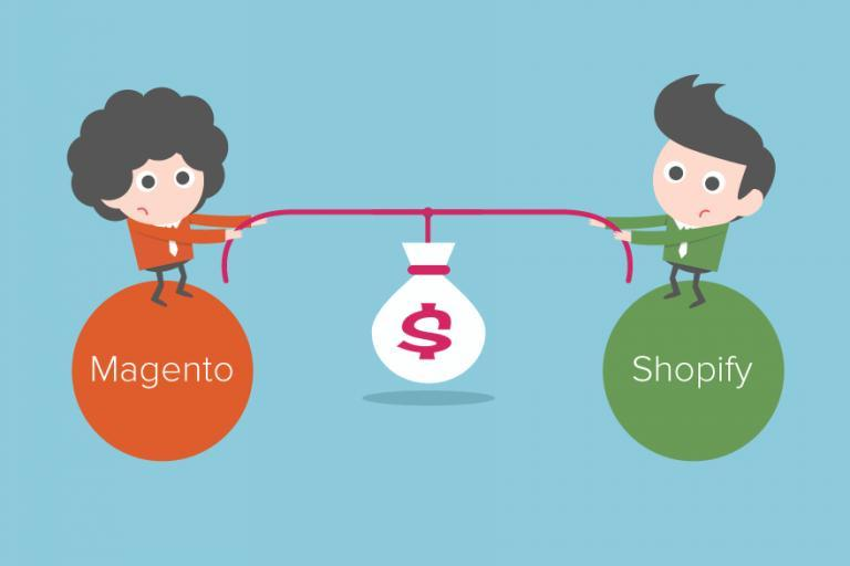 Shopify versus Magento