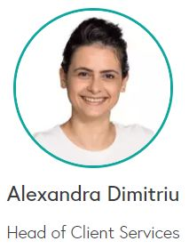 Alexandra Dimitriu - Head of Client Services