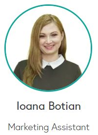 Ioana Botian - Marketing Assistant