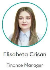 Elisabeta Crisan - Finance Manager