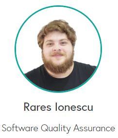 Rares Ionescu - Software Quality Assurance