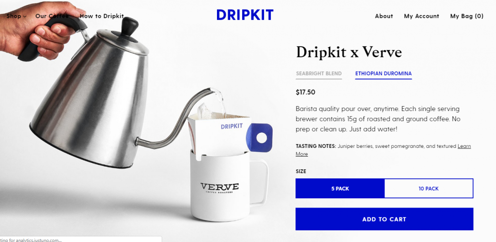 Dripkit uses Littledata for subscription analytics and ecommerce benchmarking