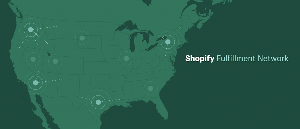 shopify fulfillment network